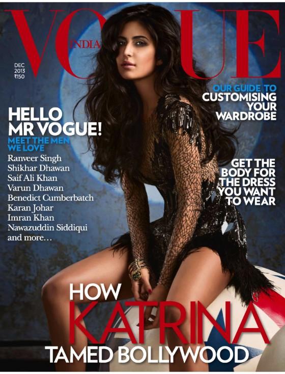 Katrina Kaif: Vogue India 2013 -01