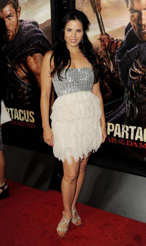 """Katrina Law - """"Spartacus: War Of The Damned"""" premiere"""