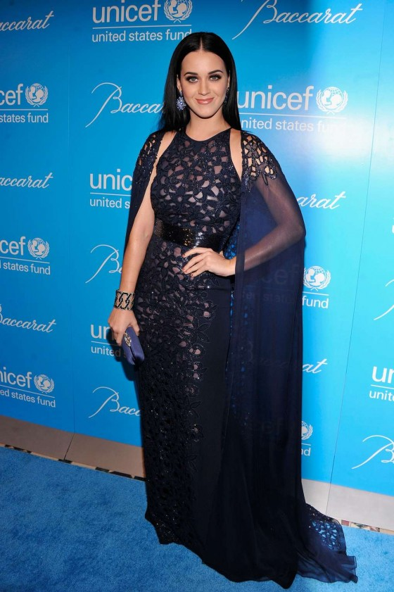 Katy Perry – 2012 Unicef SnowFlake Ball in New York
