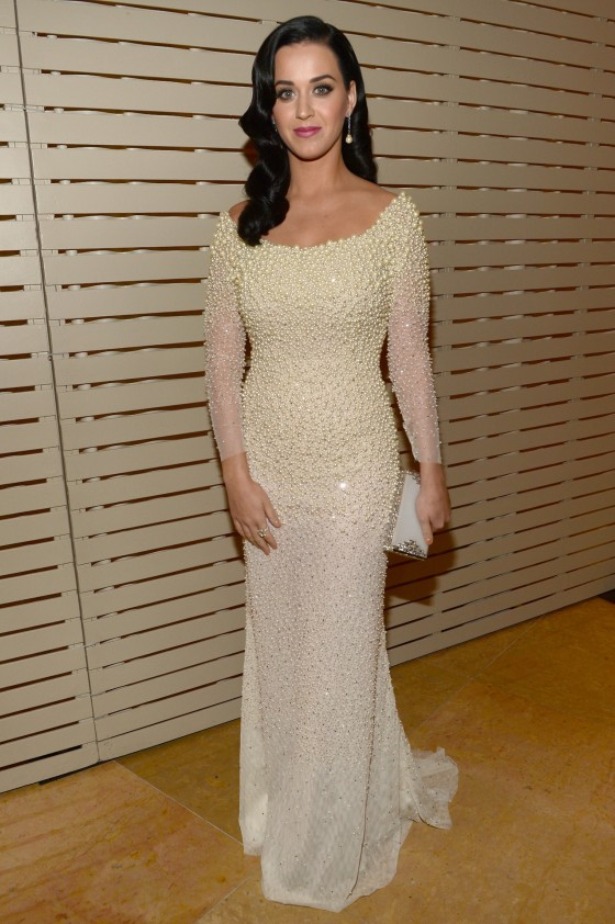 Katy Perry – 2013 Clive Davis Pre-GRAMMY Gala -02