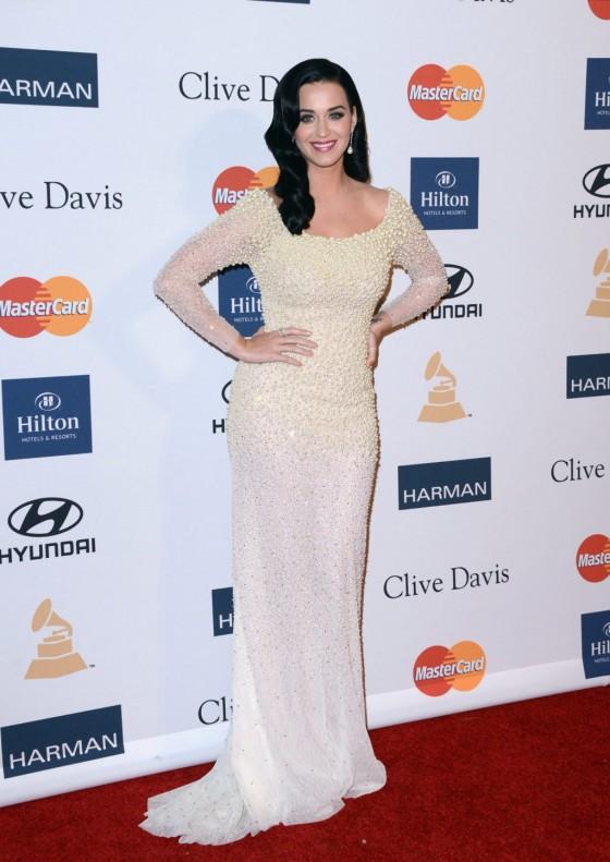 Katy Perry – 2013 Clive Davis Pre-GRAMMY Gala -05