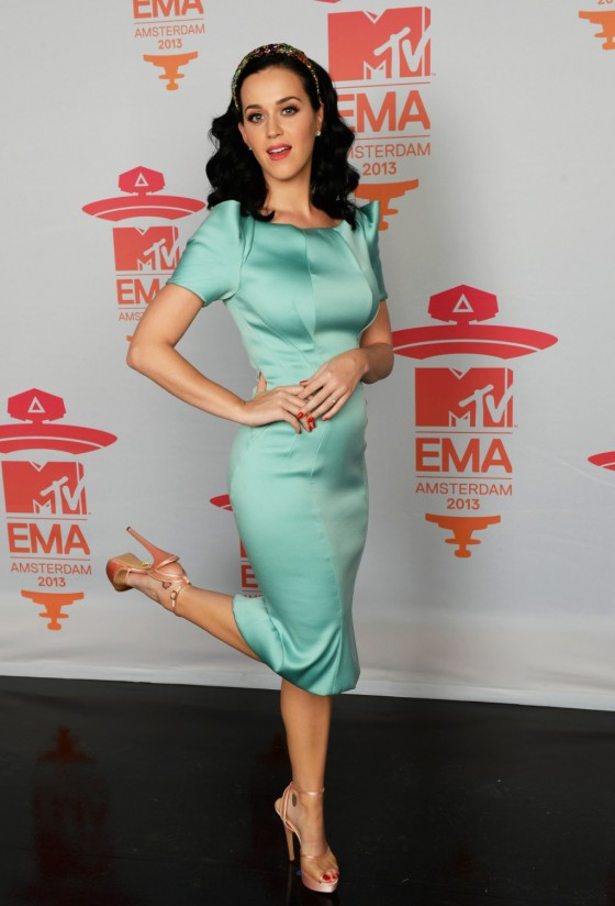 Katy Perry – 2013 MTV EMA's in Amsterdam