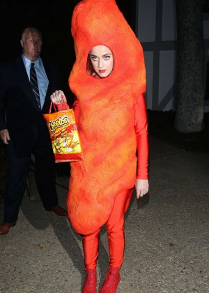 Katy Perry - Arriving at Kate Hudson's Halloween Bash in Brentwood