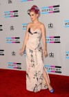 Katy Perry - Cleavage in Tight Dress at 39th Annual American Music Awards in LA-01