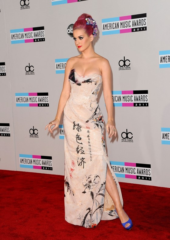 Katy Perry at 39th Annual American Music Awards in LA