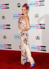 Katy Perry - Cleavage in Tight Dress at 39th Annual American Music Awards in LA-02