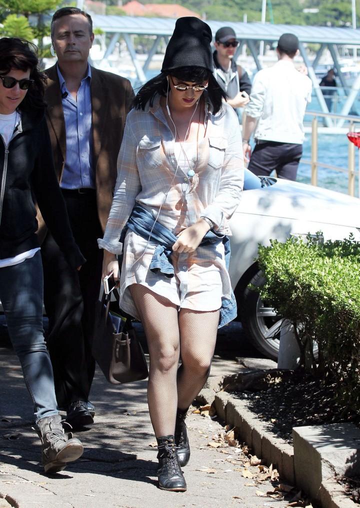 Katy Perry at Catalina Restaurant in Sydney