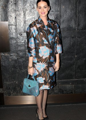 Katy Perry at Stephen Sondheim Theater in New York City
