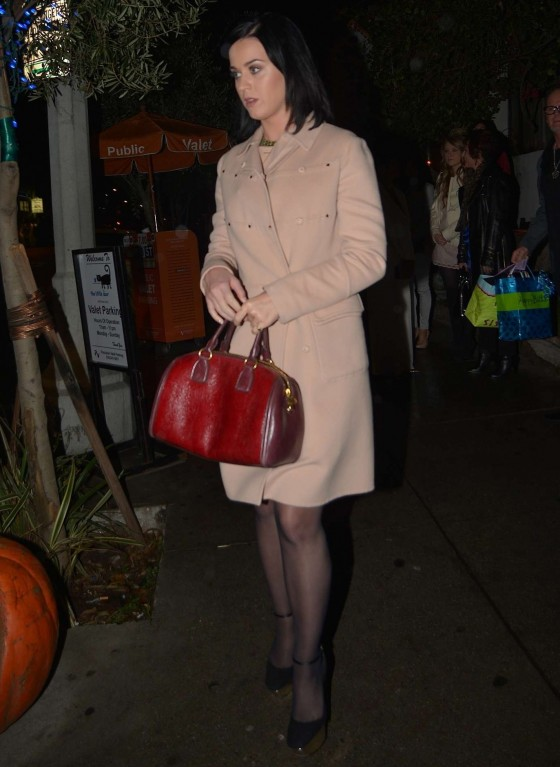 Katy Perry - The Little Door Restaurant in Los Angeles