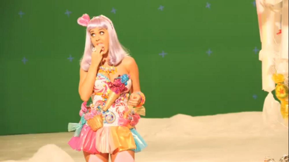 Katy Perry California Gurls photo shoot June 14 2010 0 228 views