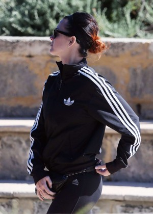 Katy Perry in Tight Leggings out In Perth