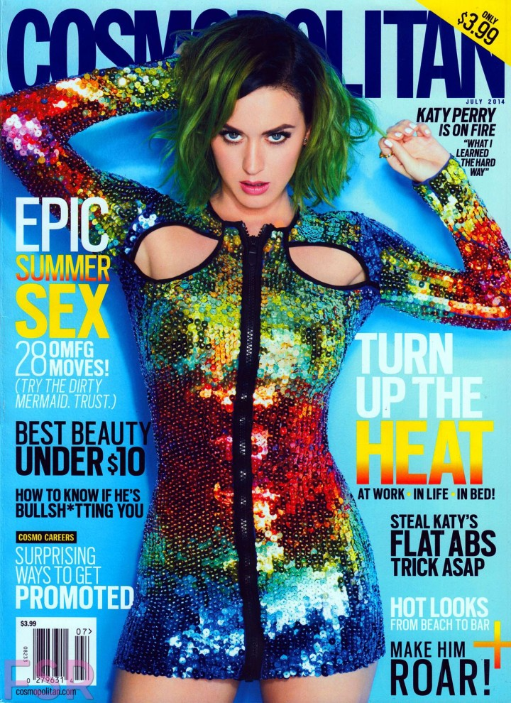 Back to post katy perry cosmopolitan magazine july 2014