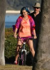 Katy Perry - Leggy in shorts in Santa Barbara-02
