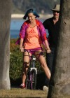 Katy Perry - Leggy in shorts in Santa Barbara-08