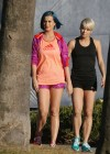 Katy Perry - Leggy in shorts in Santa Barbara-16