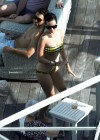 Katy Perry - In bikini at the pool in Miami-21