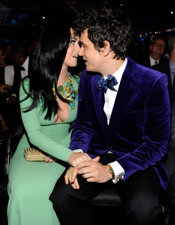 Katy Perry in a very tight dress at the Grammy Awards in LA-12