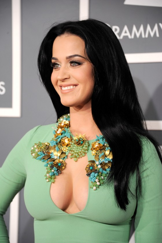 Katy Perry in a very tight dress at the Grammy Awards in LA-22