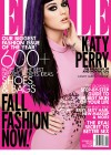 Katy Perry intight pink dress for Elle Magazine