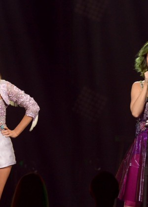 Katy Perry and Kacey Musgraves at CMT 2014-05