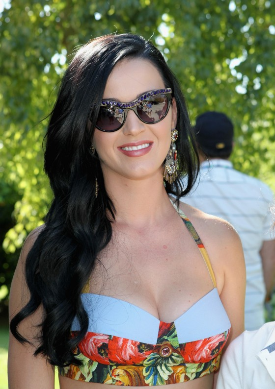 Katy Perry at Lacoste LiVE Pool Party at Coachella -02