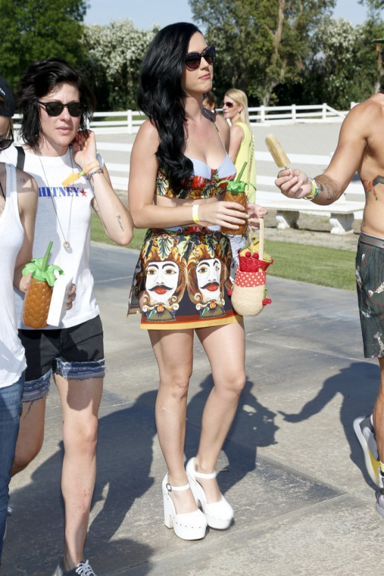 Katy Perry at Lacoste LiVE Pool Party at Coachella -04