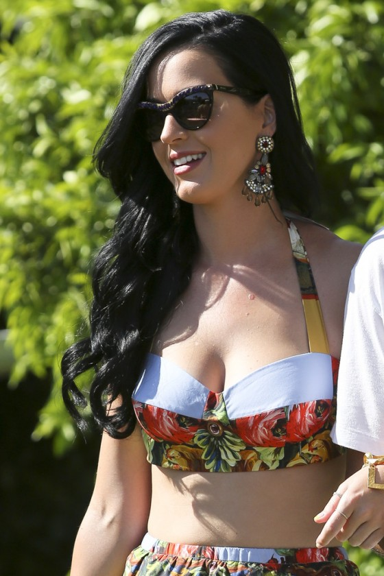 Katy Perry at Lacoste LiVE Pool Party at Coachella -07