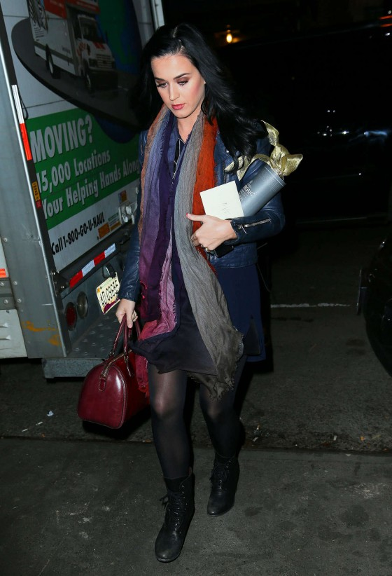 Katy Perry – out for dinner in NYC