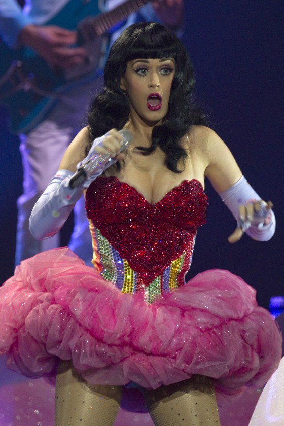 Back to post katy perry performs on stage at vector arena in