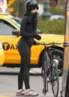 Katy Perry - Rides her bike in NY