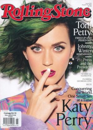 Katy Perry - Rolling Stone Magazine (August 2014)
