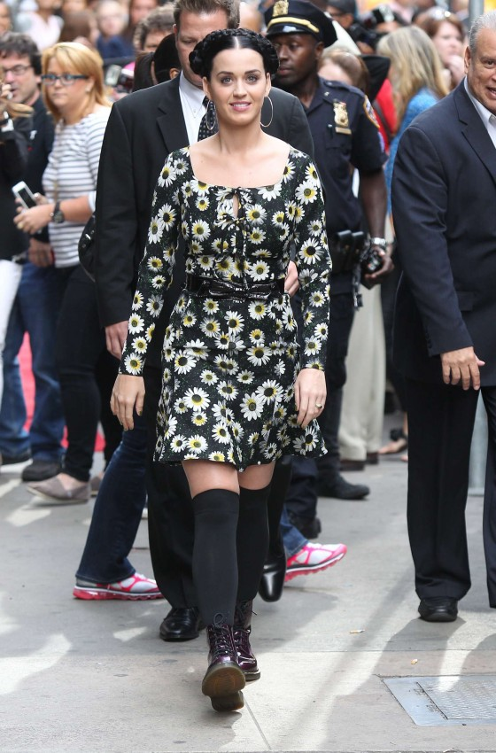 Katy Perry stopped by Good Morning America