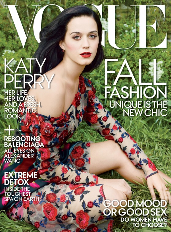 Katy Perry – Vogue – July 2013