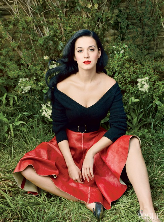 Katy Perry – Vogue – July 2013 -02