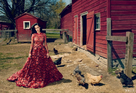 Katy Perry – Vogue – July 2013 -05