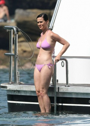 Katy Perry in Pink Bikini -75