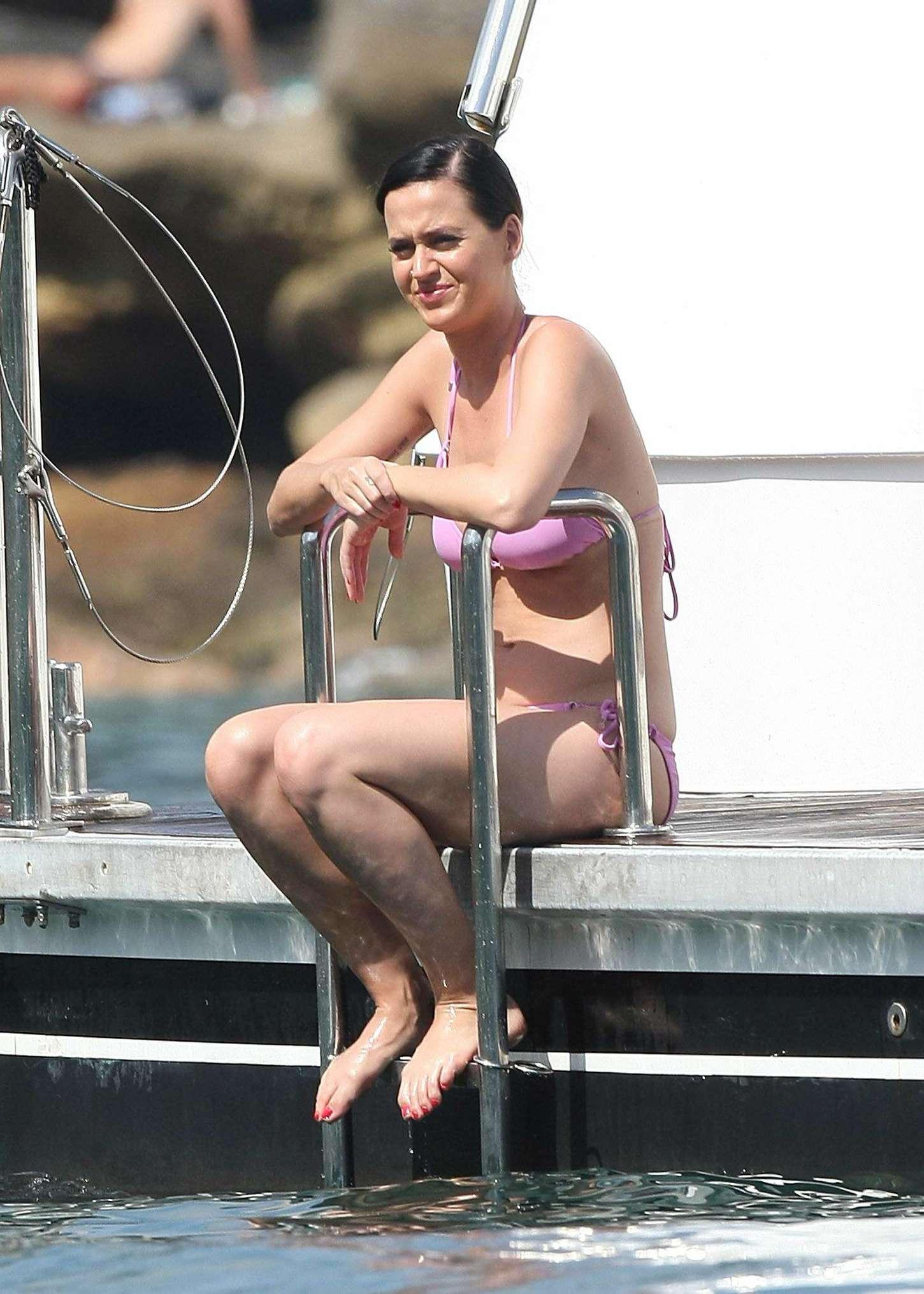 Katy Perry In Pink Bikini -90