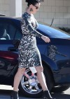 Katy Perry - Wearing Tight Dress at Rite Aid in Santa Barbara