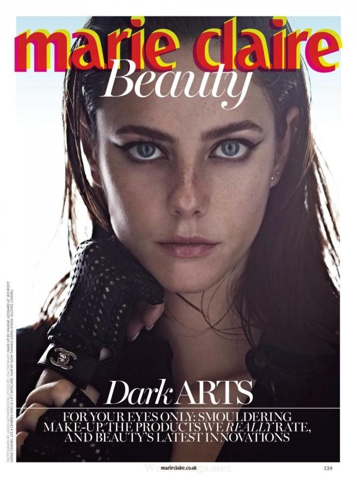 Kaya Scodelario 226 Marie Claire Uk Magazine April 2014