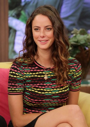 Kaya Scodelario - The Maze Runner Promotion at Despierta America in Miami
