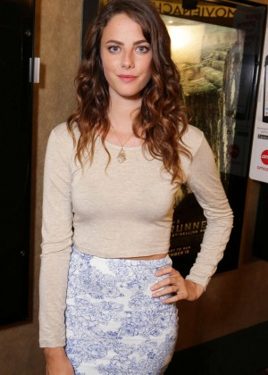 "Kaya Scodelario - ""The Maze Runner"" Screening in Los Angeles"