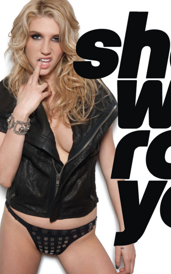 Ke$ha Oozes Sexiness for Maxim