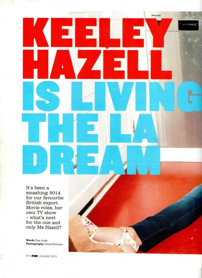 Keeley Hazell: FHM Magazine 2015 -05