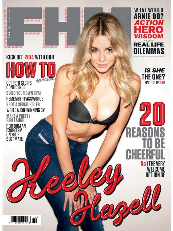 Keeley Hazell – FHM Magazine (UK 2014)
