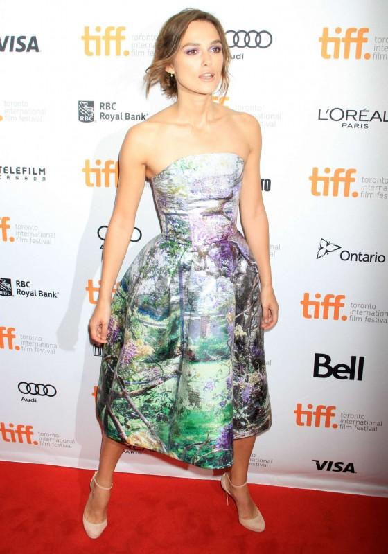 Keira Knightley –  2013 TIFF in Toronto