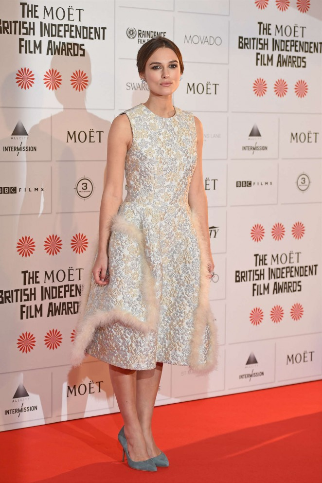 Keira Knightley: 2014 The Moet British Independent Film Awards-01