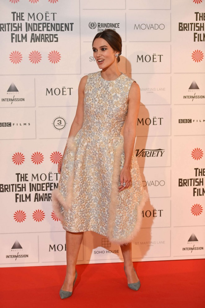 Keira Knightley: 2014 The Moet British Independent Film Awards-02
