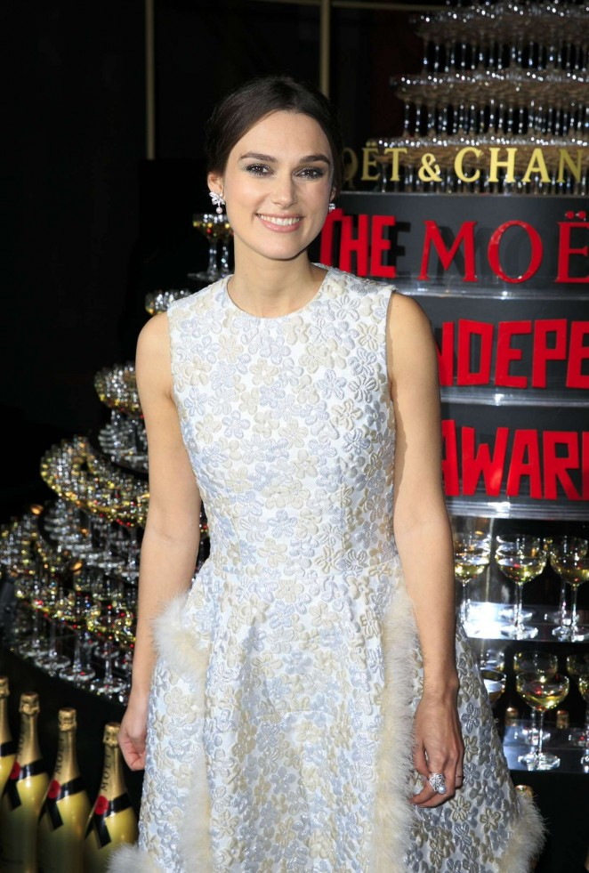 Keira Knightley: 2014 The Moet British Independent Film Awards-06