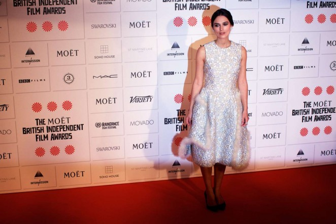 Keira Knightley: 2014 The Moet British Independent Film Awards-09