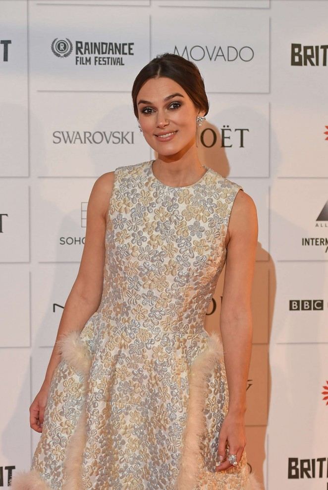 Keira Knightley: 2014 The Moet British Independent Film Awards-11